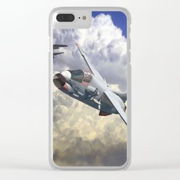 Crusaders! Clear iPhone Case