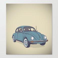 VW Beetle Canvas Print