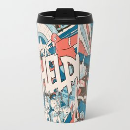 Save us. Travel Mug