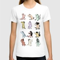 dinosaurs T-shirts featuring Dinosaurs by BlandinePannequin