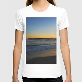 San Clemente Ca pier sunset T-shirt