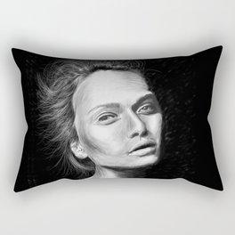 Love Girls - Black Rectangular Pillow