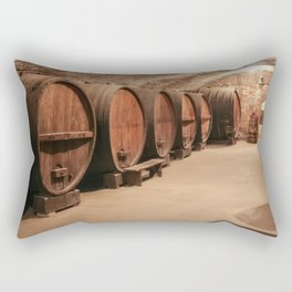 Wine & Truth and All That Rectangular Pillow