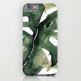 Amazon Jungle Leaf iPhone Case