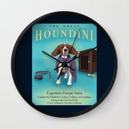 The Great Houndini Wall Clock