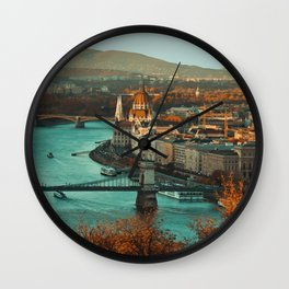Budapest, Hungary Travel Artwork Wall Clock