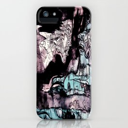 Nun and a facet of myself iPhone Case