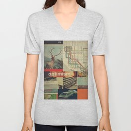Optimism178 Unisex V-Neck