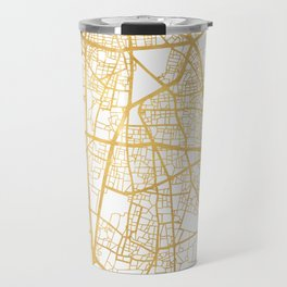 BEIRUT LEBANON CITY STREET MAP ART Travel Mug
