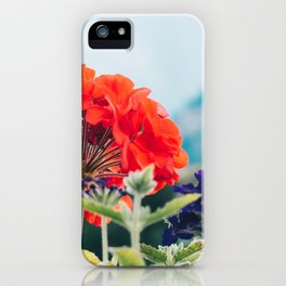 Red Flowers, Leavenworth iPhone Case