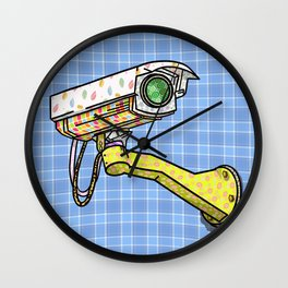 Security Camera Wall Clock