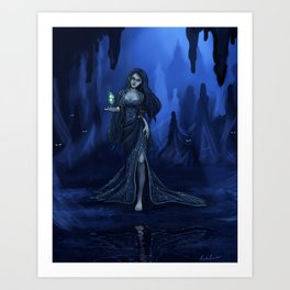 The Spider Queen Art Print