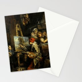 "François Boucher ""The Landscape Painter"" Stationery Cards"