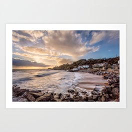 Steephill Cove Art Print