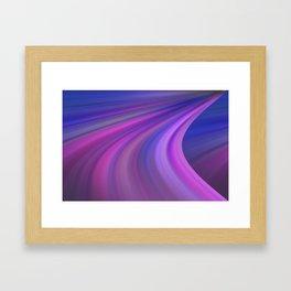 Sky Turn Framed Art Print