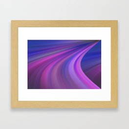 Sky Turn Framed Art Print