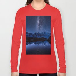 Night mountains Long Sleeve T-shirt