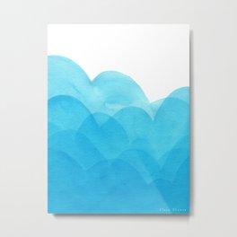 Always blue Metal Print