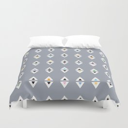 ALWAYS TRIANGLES Duvet Cover