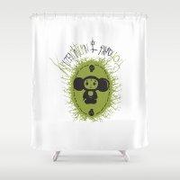 che Shower Curtains featuring che by kruzenshtern i parohod
