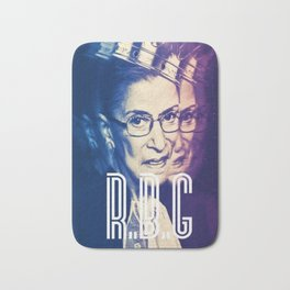 RBG Ruth Bader Ginsburg Fight For The Things You Care About Bath Mat