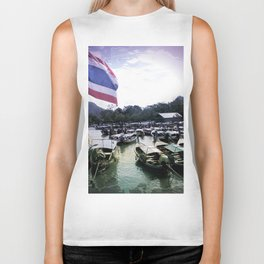 Long-Tail Harbor Biker Tank