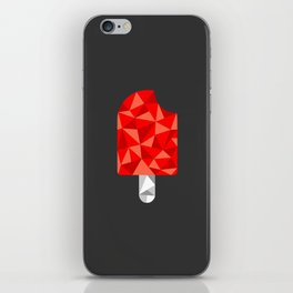 TRIsicle (Red) iPhone Skin
