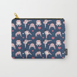 be my Valentine, sumo edition Carry-All Pouch