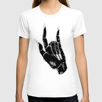 loll3 T-shirts featuring Idle Hand by lOll3