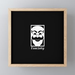 Fsociety, The Hackerman Framed Mini Art Print