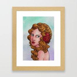 Female Whimsy Framed Art Print