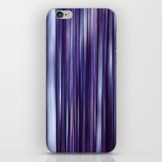 purple forest stripes iPhone & iPod Skin