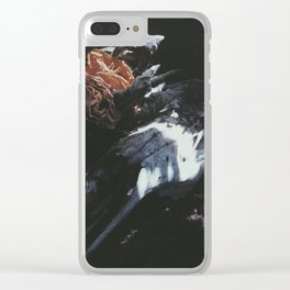 DEATH & ROSES II Clear iPhone Case