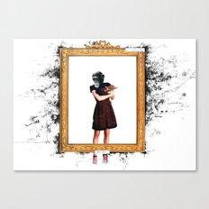 Arty Shit Canvas Print