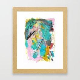 Sea Earth Sky 1 Framed Art Print