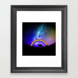 Rainbow Migration Framed Art Print