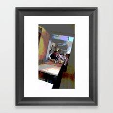 Cafe Life Framed Art Print