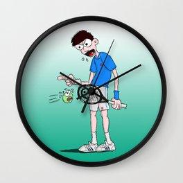 Novak Djokovic Wall Clock