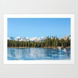 Red Rock Lake Art Print