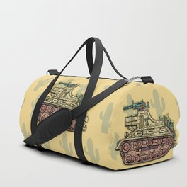 African desert corps tank WWII Duffle Bag