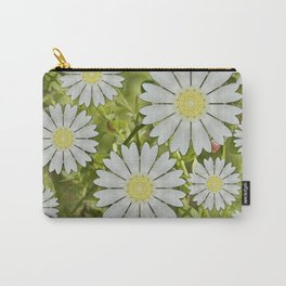Abstract daisies in underbrush Carry-All Pouch