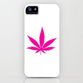 Girly Ganja iPhone Case