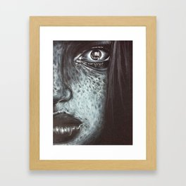 Person Framed Art Print