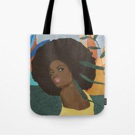 Afro lady #art print#society6 Tote Bag