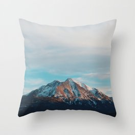 Mount Sopris Sunset 3/19/17 Throw Pillow