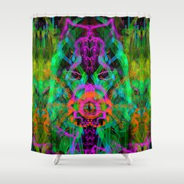 A Trinitarian From Hoag's Object (scifi, visionary) Shower Curtain