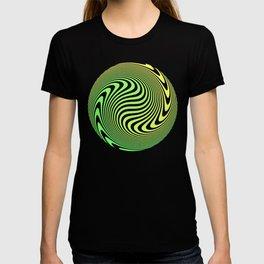 Beach Blanket - Green/Yellow Stripes T-shirt