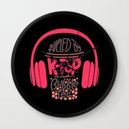 Korean Pop Shirt k-pop music bubble tea gift Wall Clock
