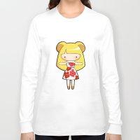 scandinavian Long Sleeve T-shirts featuring Scandinavian Hamster by Joanna Zhou