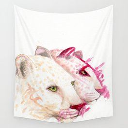 Leopards - A Collaboration with my Toddler Wall Tapestry